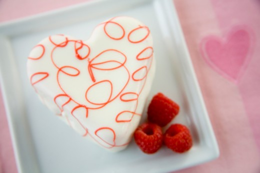Stock Photo: 1555R-99198 Strawberry dessert