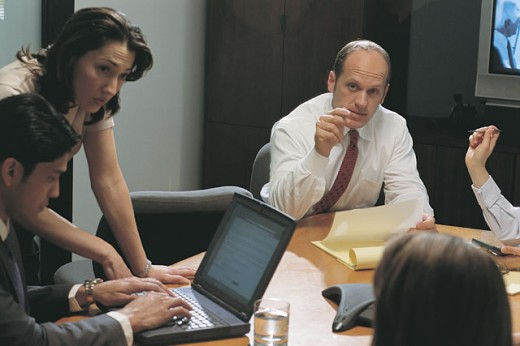 Stock Photo: 1557R-02538 Business meeting