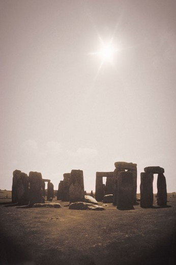 Stock Photo: 1557R-02624 Stonehenge