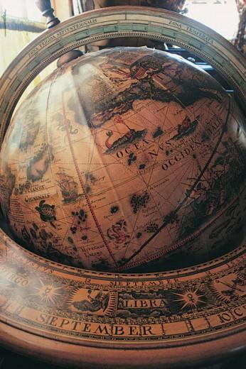 Stock Photo: 1557R-05192 Globe