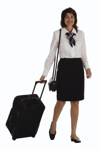 Flight attendant : Stock Photo