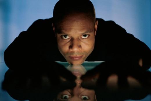 Man , portrait : Stock Photo
