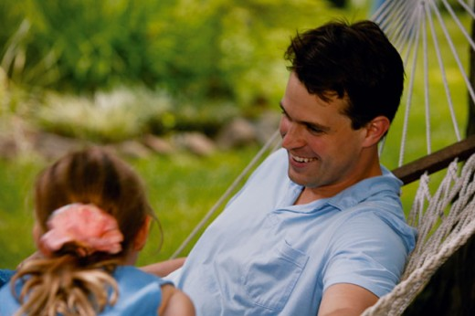 Stock Photo: 1557R-07695 Man laughing in hammock