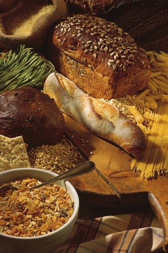 Grain products : Stock Photo