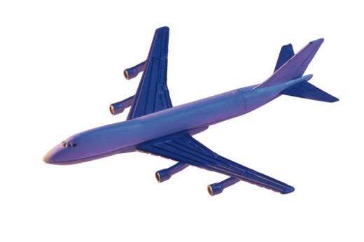 Toy jet airplane model : Stock Photo
