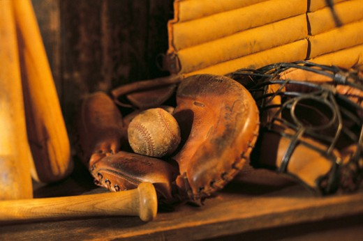 Baseball memorabilia : Stock Photo