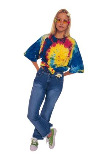 Portrait of a hippie : Stock Photo