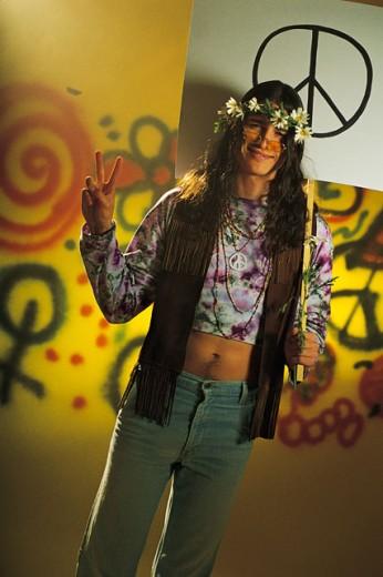 Stock Photo: 1557R-170058 Hippie