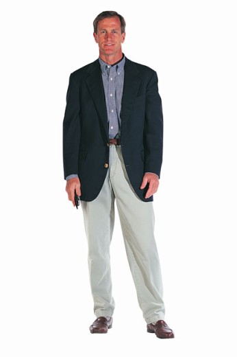 Man wearing a suit : Stock Photo