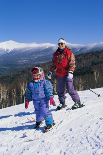 Bretton Woods ski area : Stock Photo