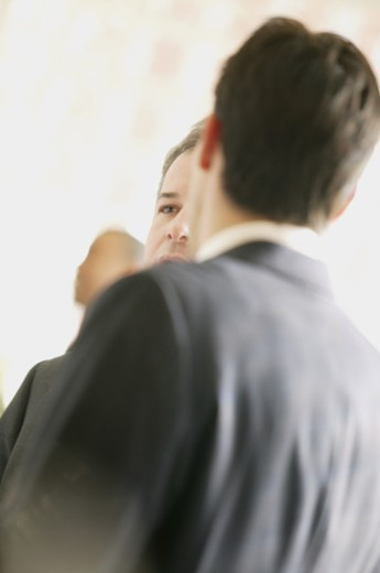 Stock Photo: 1557R-276856 Businessmen talking