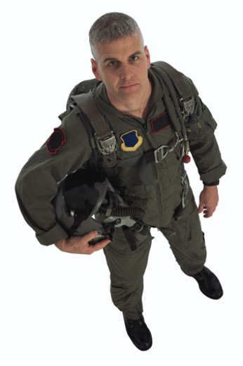 Stock Photo: 1557R-276905 Fighter pilot