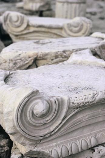 Stock Photo: 1557R-277798 Stone columns