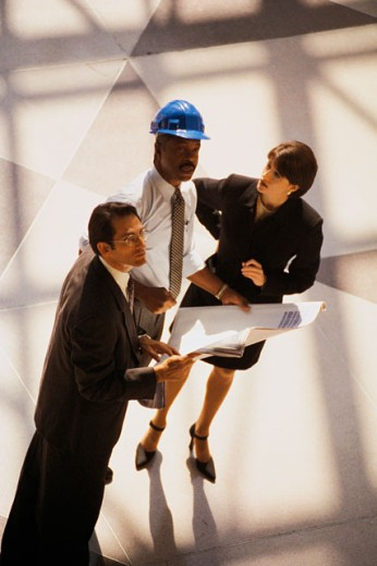 Architects working : Stock Photo