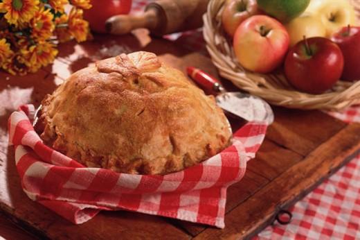 Stock Photo: 1557R-277892 Apple pie