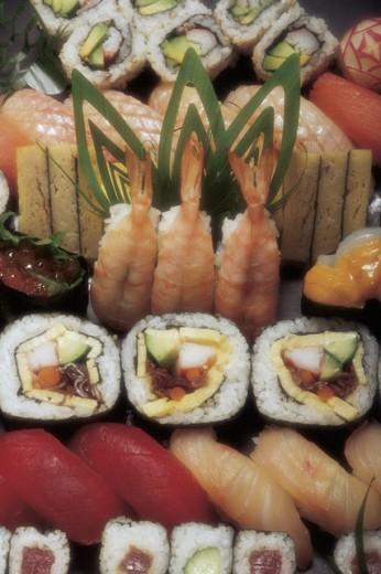 Stock Photo: 1557R-279943 Sushi