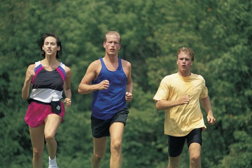 People running : Stock Photo