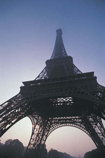 Stock Photo: 1557R-282010 Eiffel Tower , Paris , France