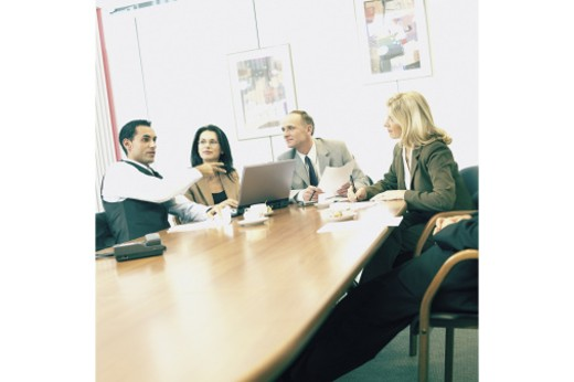 Stock Photo: 1557R-285489 Business meeting