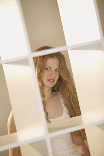 Stock Photo: 1557R-286204 Woman posing