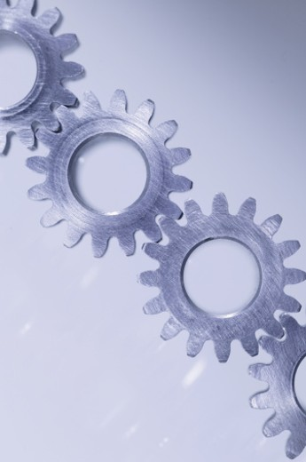 Gears connected : Stock Photo