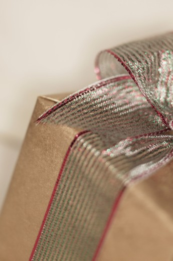 Wrapped gift : Stock Photo