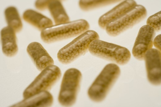 Pill capsules : Stock Photo