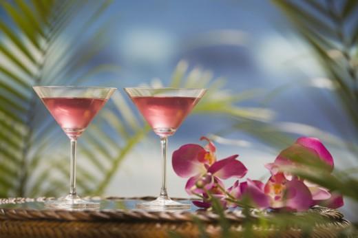 Stock Photo: 1557R-299728 Martinis
