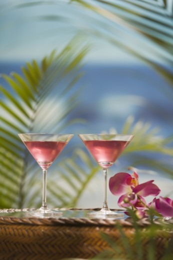 Stock Photo: 1557R-299729 Martinis