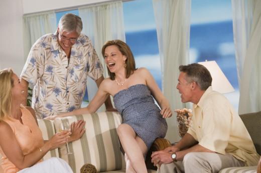 People socializing : Stock Photo