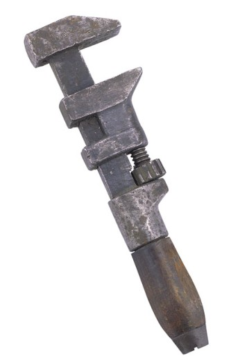 Stock Photo: 1557R-30006 Pipe wrench