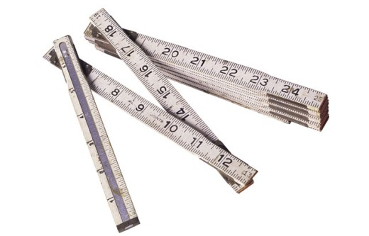 Folding ruler : Stock Photo