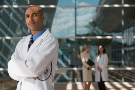 Stock Photo: 1557R-301702 Medical professional