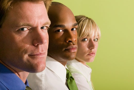 Stock Photo: 1557R-303190 Portrait of businesspeople