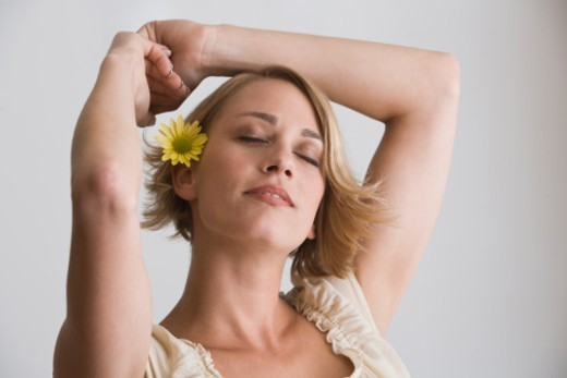 Stock Photo: 1557R-305877 Relaxed woman