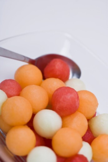 Assorted melon balls : Stock Photo