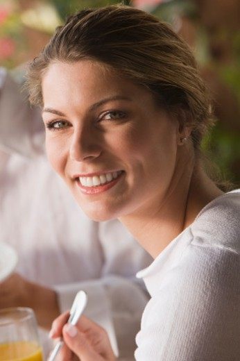 Stock Photo: 1557R-306994 Smiling woman