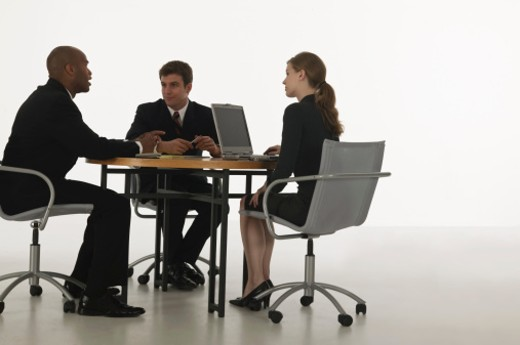 Stock Photo: 1557R-307692 Business meeting