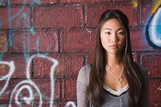Portrait teenage girl : Stock Photo