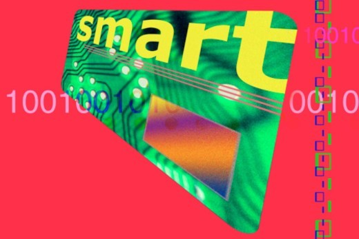 Smart card : Stock Photo