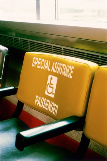 Special assistance chair : Stock Photo