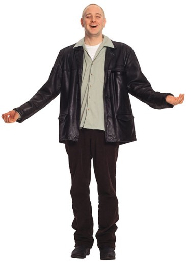 Stock Photo: 1557R-33094 Man in leather jacket