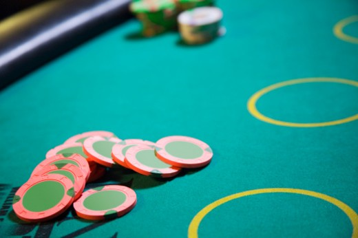 Stock Photo: 1557R-340855 Casino chips