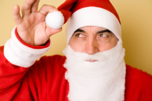 Stock Photo: 1557R-351927 Santa Claus
