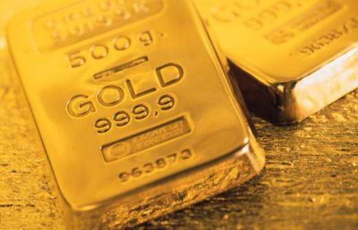 Gold bars : Stock Photo