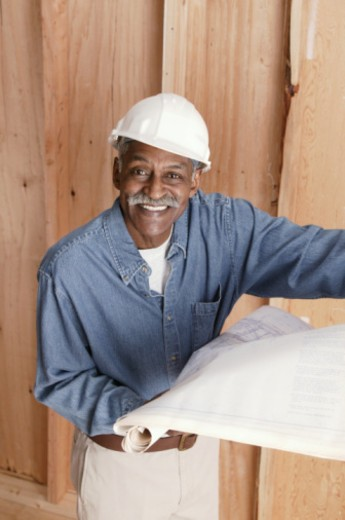 Stock Photo: 1557R-353840 Construction worker