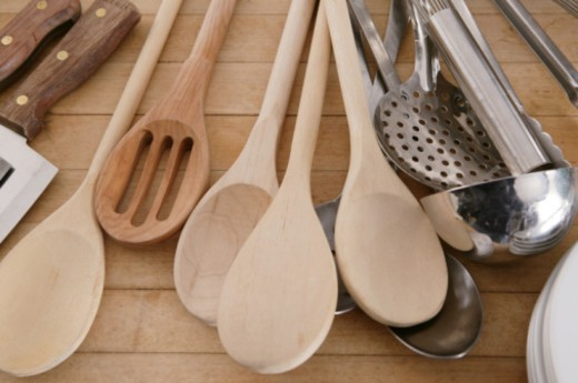 Cooking utensils : Stock Photo