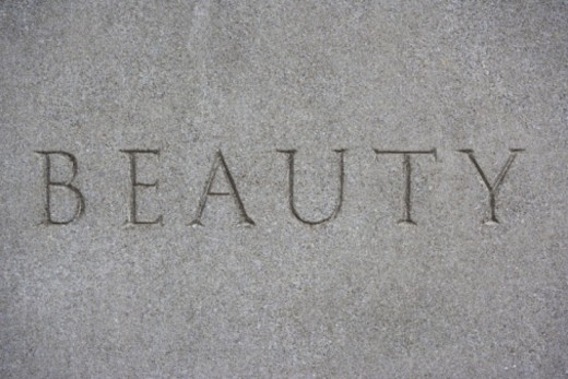 Word etched in stone : Stock Photo