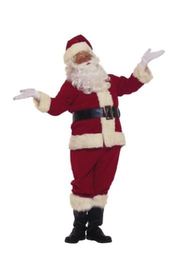 Stock Photo: 1557R-364366 Santa Claus shrugging