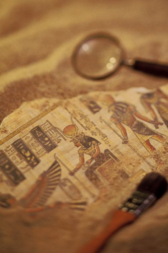 Close-up of Egyptian artifacts : Stock Photo